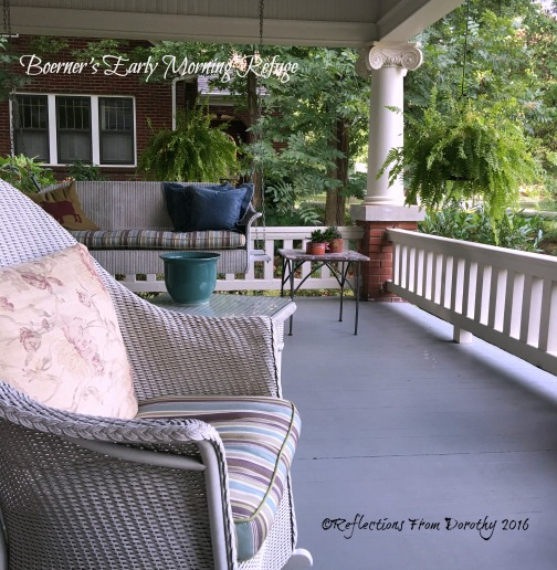 Talya & John's Porch