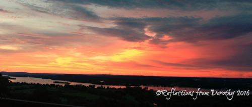 dark-orange-sunset
